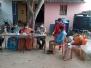 Corona vaccination camp at the reception Unit